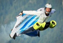 Photo of Tuta alare elettrica, volare a oltre 300 km/h, motori powered by BMW