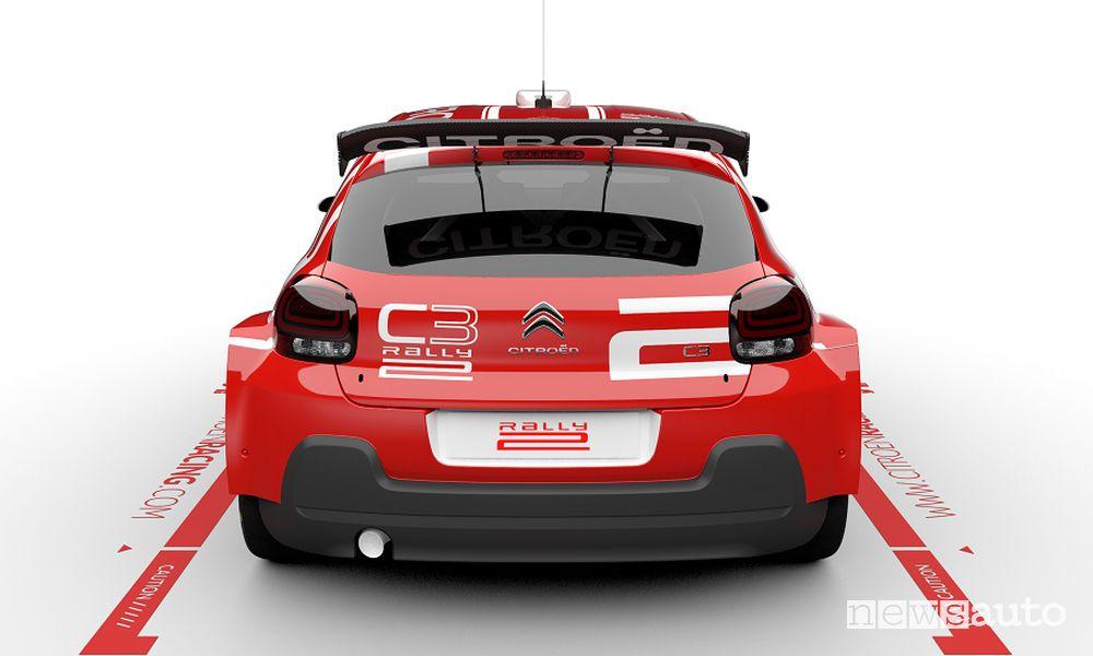 Posteriore Citroën C3 Rally2