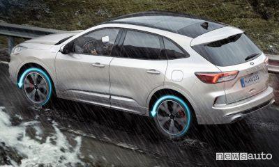 Trazione integrale intelligente AWD Ford