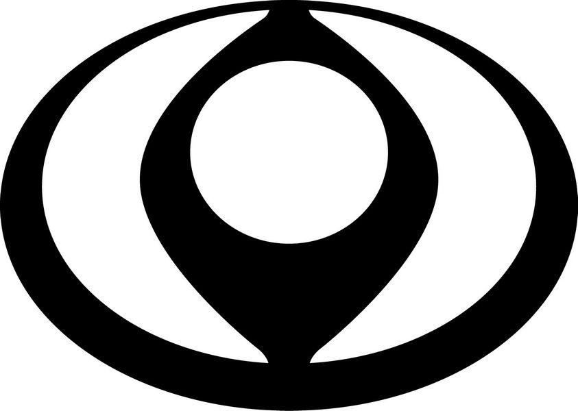 Logo Mazda a forma di diamante
