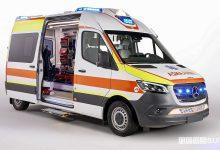 Photo of Ambulanza Mercedes Sprinter, caratteristiche allestimento Olmedo
