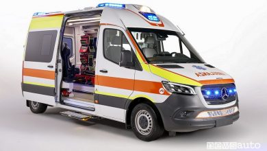 Photo of Ambulanza Mercedes Sprinter, caratteristiche allestimento Olmedo