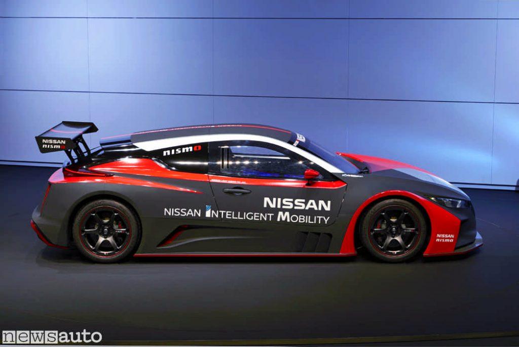 Una spettacolare Nissan preparata da corsa