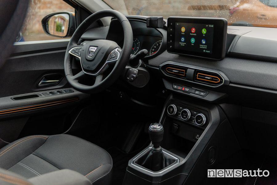 Plancia strumenti abitacolo nuova Dacia Sandero Steptway