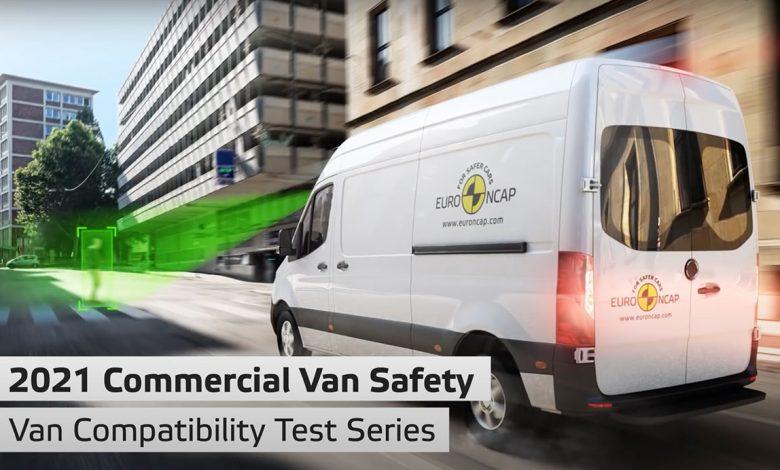 Test furgoni Euro NCAP 2021