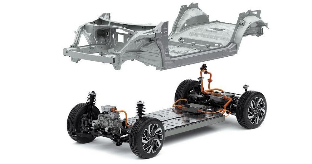 Piattaforma E-GMP e scocca auto elettriche Hyundai e Kia