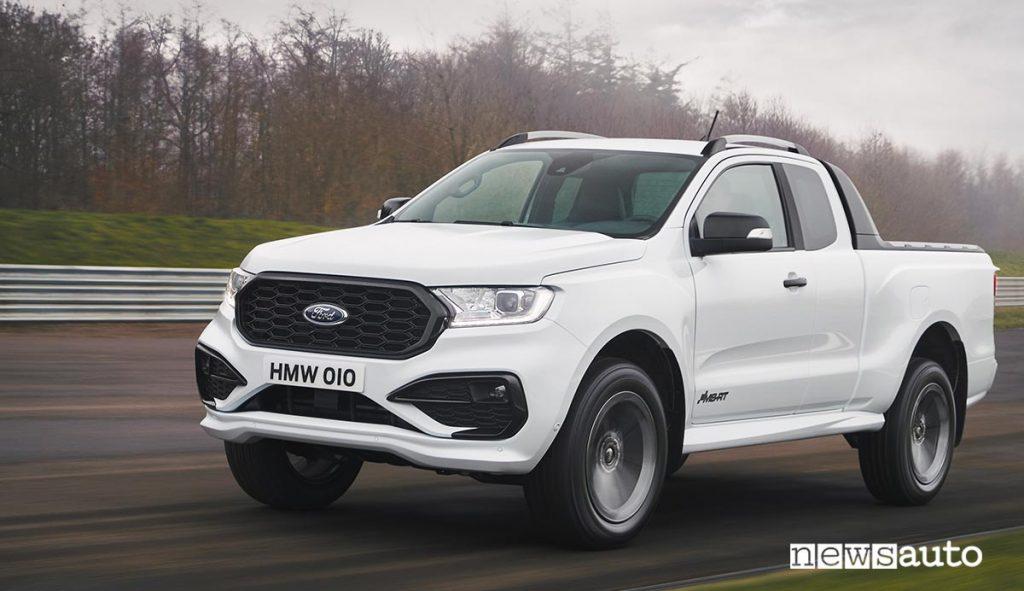 Ford Ranger MS-RT Frozen White