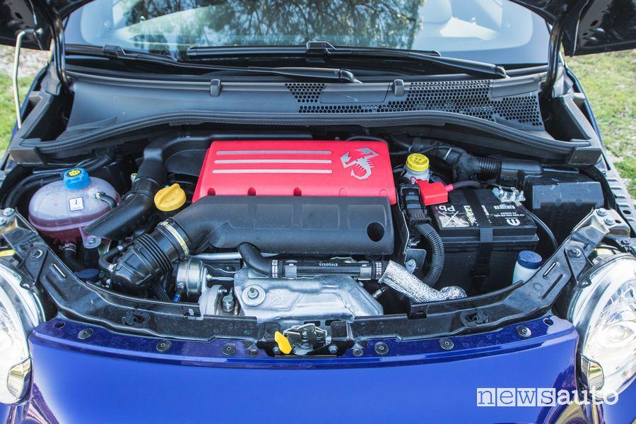 Vano motore Abarth 595 Monster Energy Yamaha