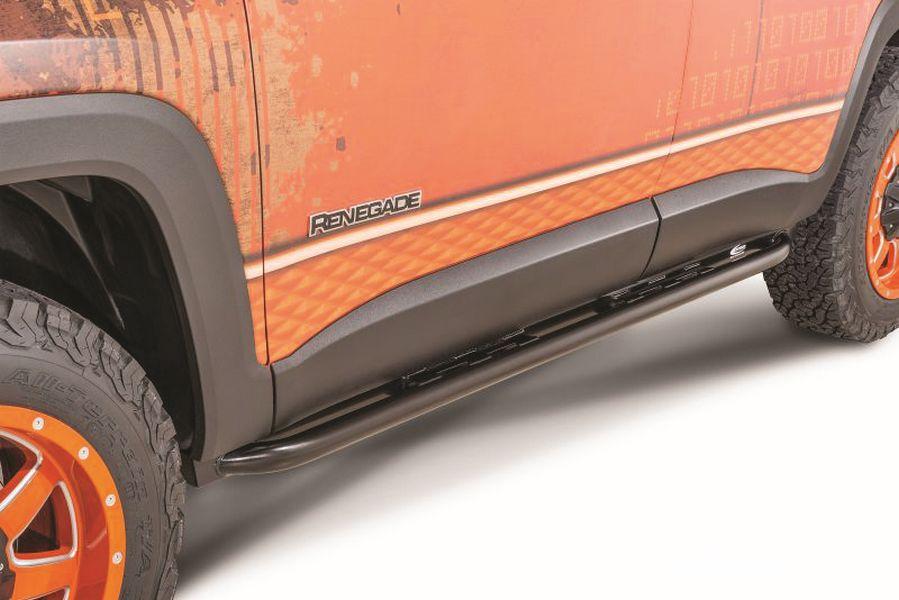 Renegade Off Quattro-Pedane Protezioni laterali sottoporta tubolari