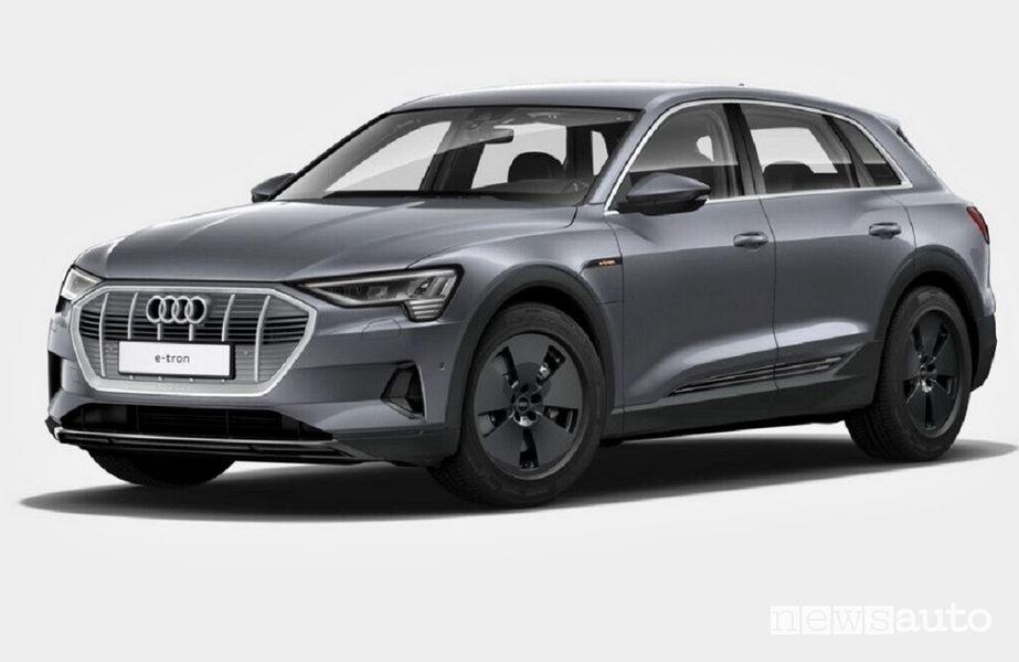 Audi e-tron 50 quattro EVO