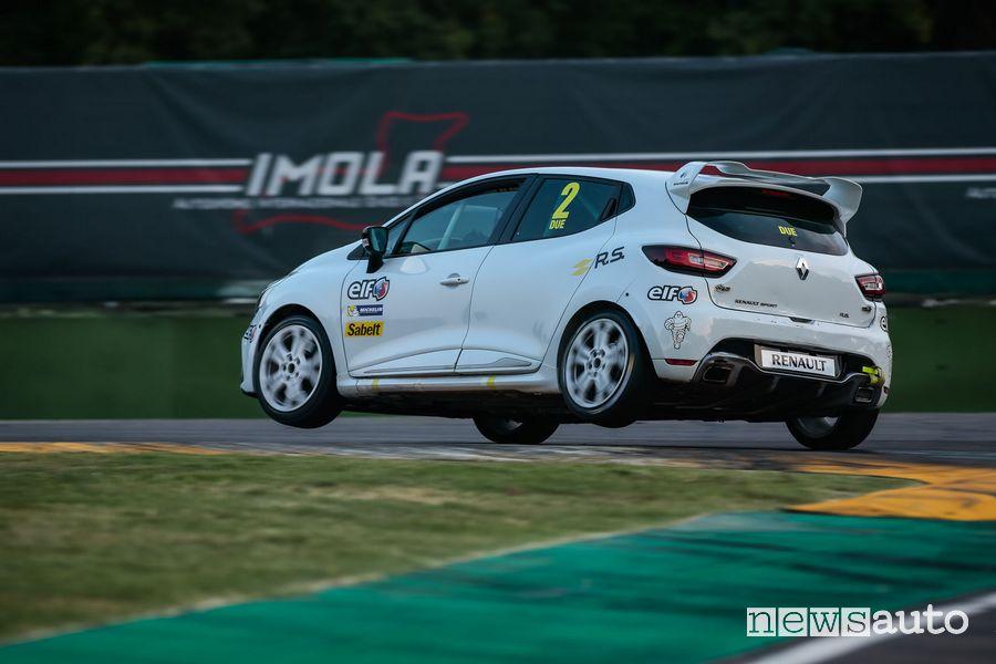 Auto da corsa, Renault Clio, ideale per iniziare  a correre in  pista con le auto