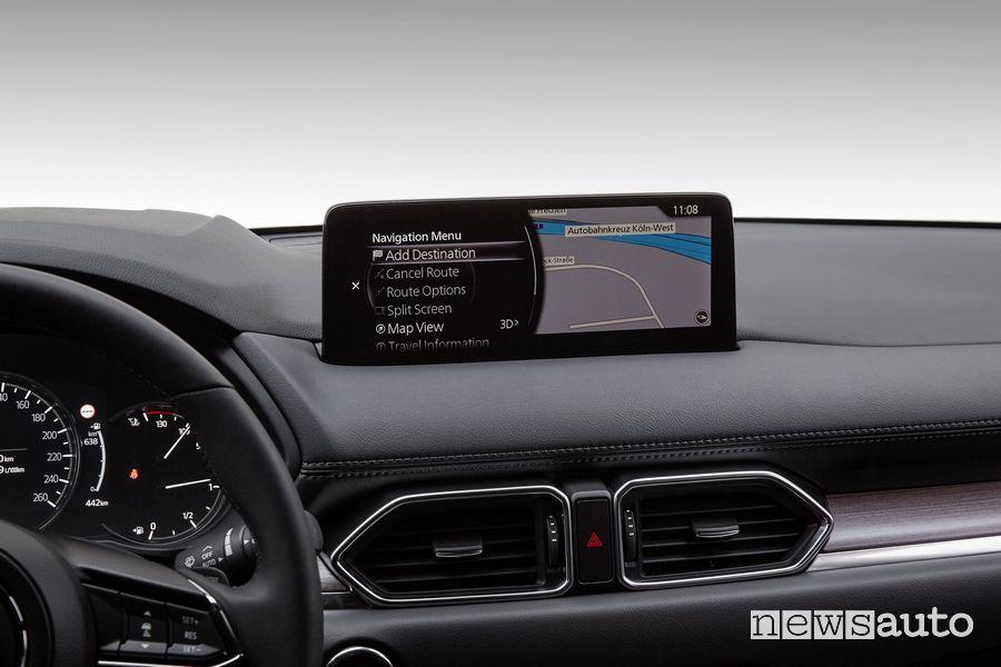 Navigatore infotainment Mazda CX-5 2021