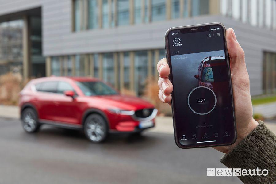 App My Mazda SUV Mazda CX-5 2021