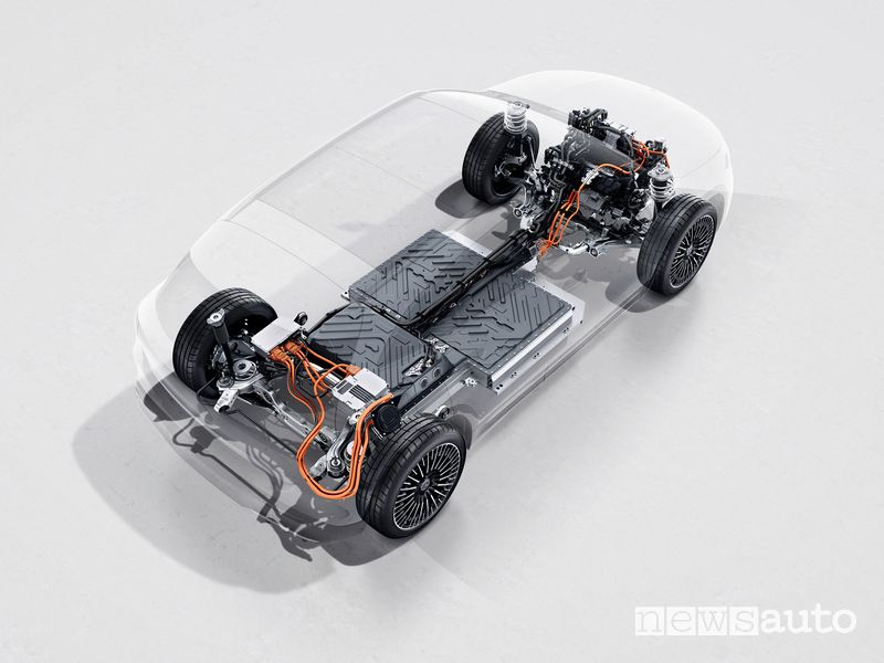 Motore, batteria Mercedes-Benz EQA
