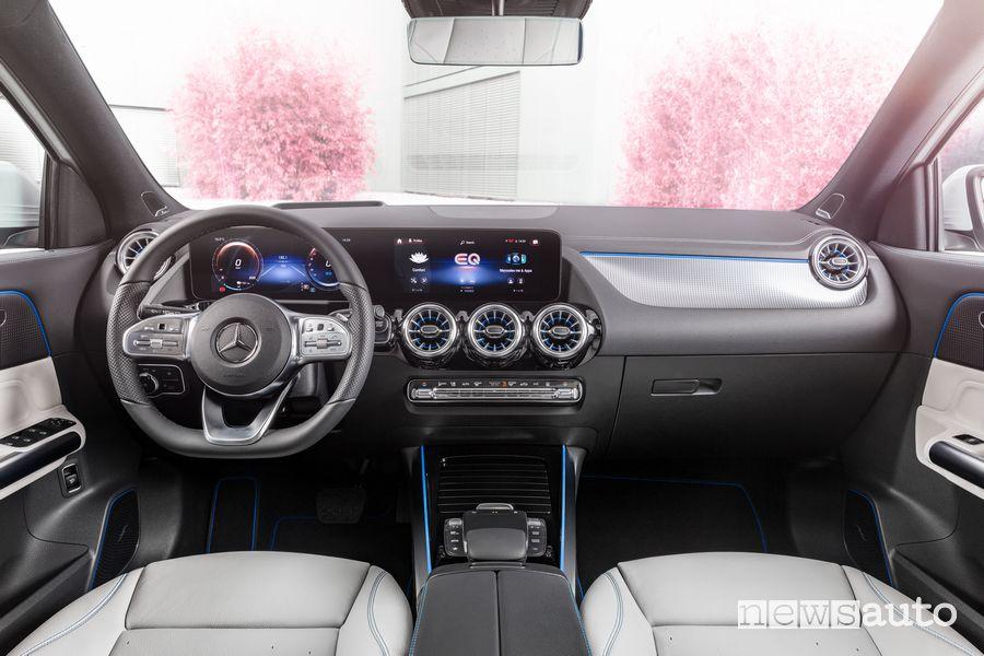 Plancia strumenti abitacolo Mercedes-Benz EQA Edition 1