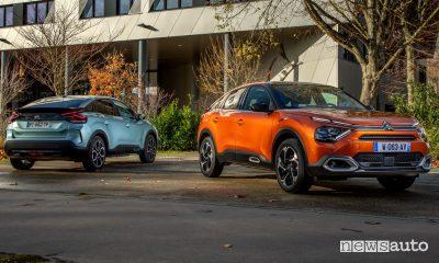 Nuova Citroën C4 e nuova ë-C4 elettrica