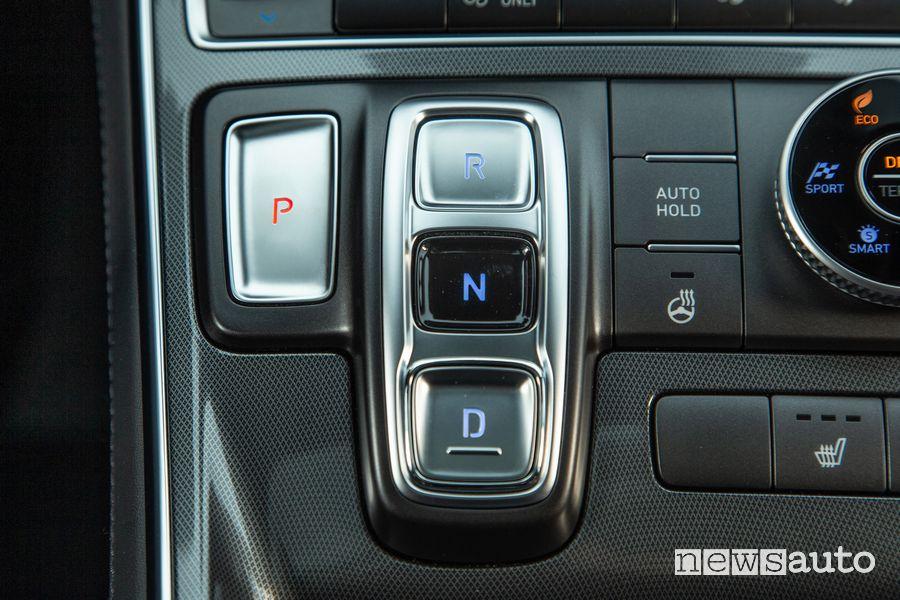 Comandi cambio automatico nuova Hyundai Santa Fe