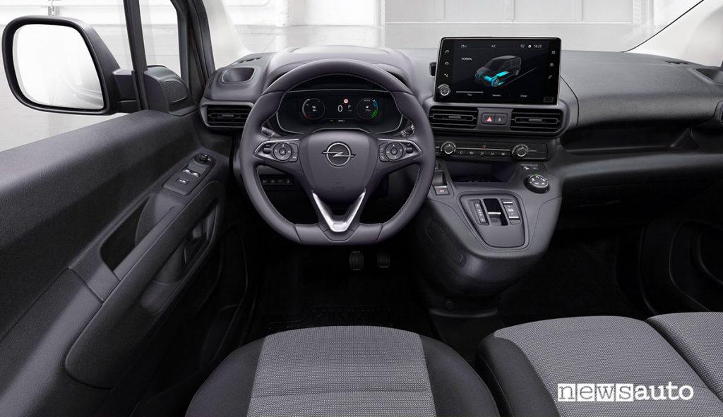 Abitacolo di Opel Combo-e