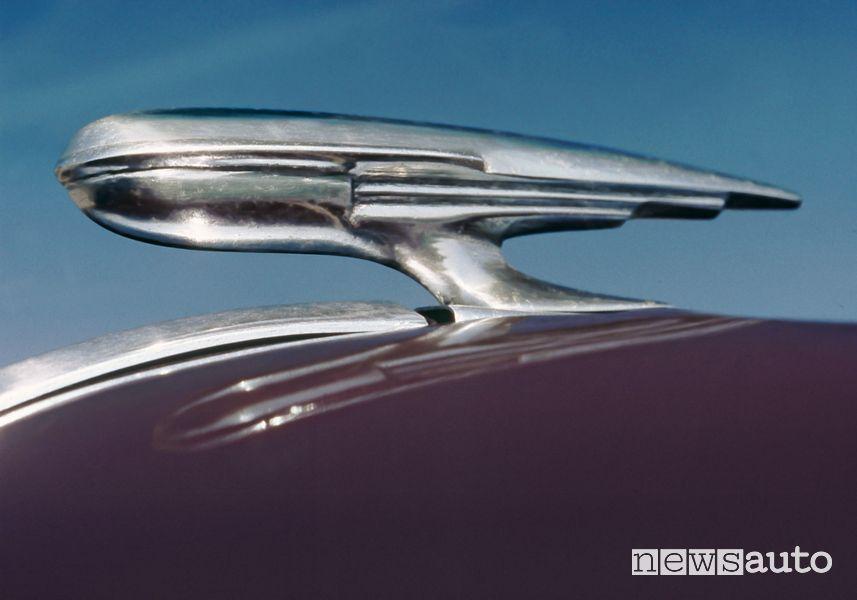 Logo Opel a forma di dirigibile