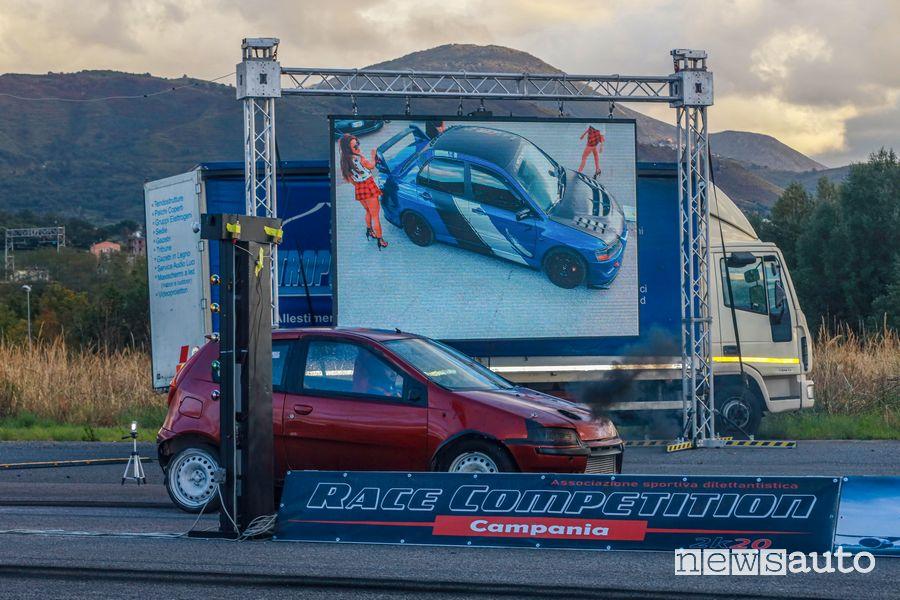 Race Competiton Campania gara accelerazione Sud Italia