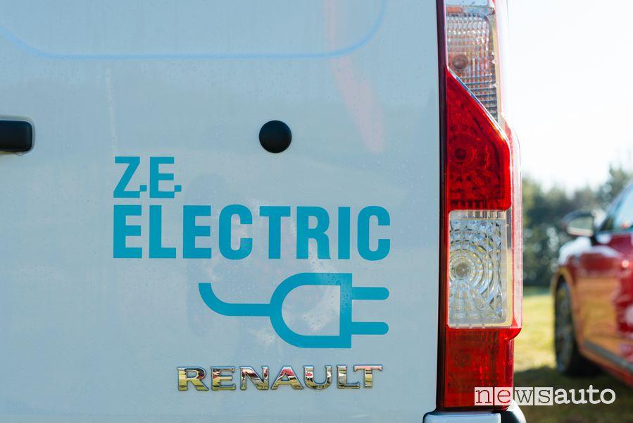 Portellone posteriore Renault Kangoo Z.E.