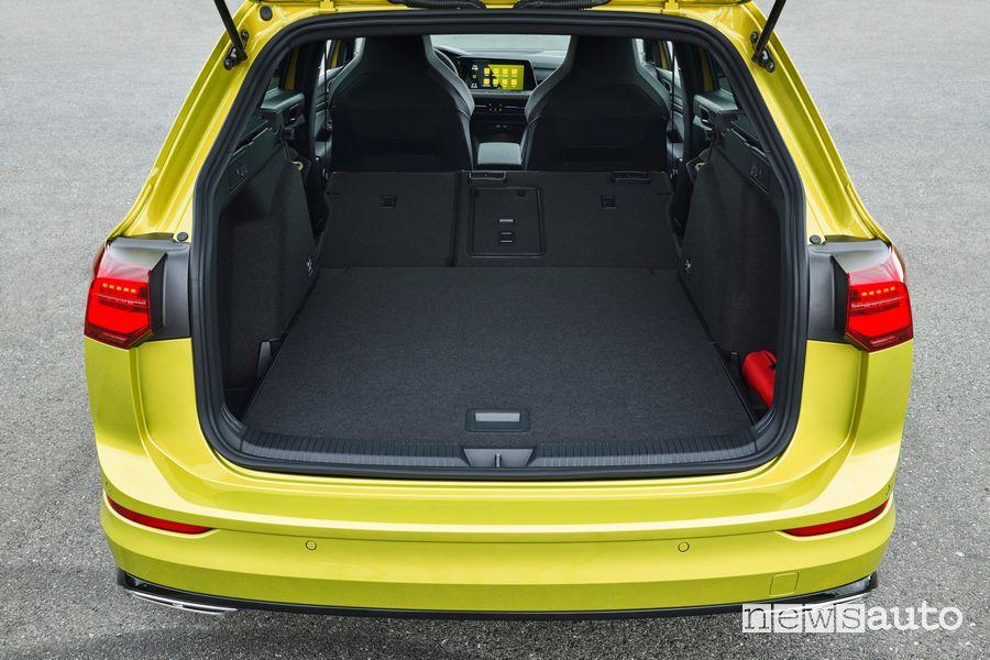 Bagagliaio Volkswagen Golf Variant R-Line