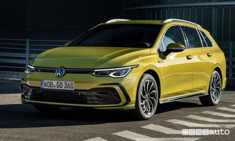 Nuova Volkswagen Golf Variant R-Line