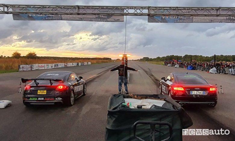Gare di accelerazione, novità Drag Racing nel Sud Italia