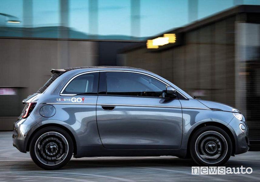 Car-sharing elettrico LeasysGO a Torino, Milano e Roma