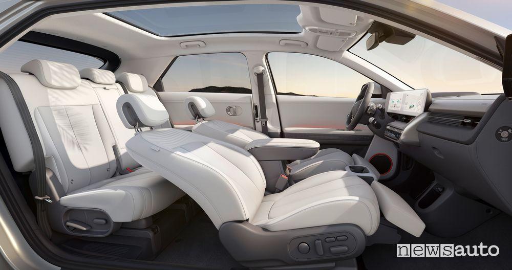 Abitacolo nuova Hyundai Ioniq 5