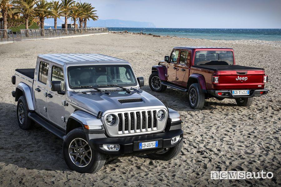 Nuova Jeep Gladiator Overland