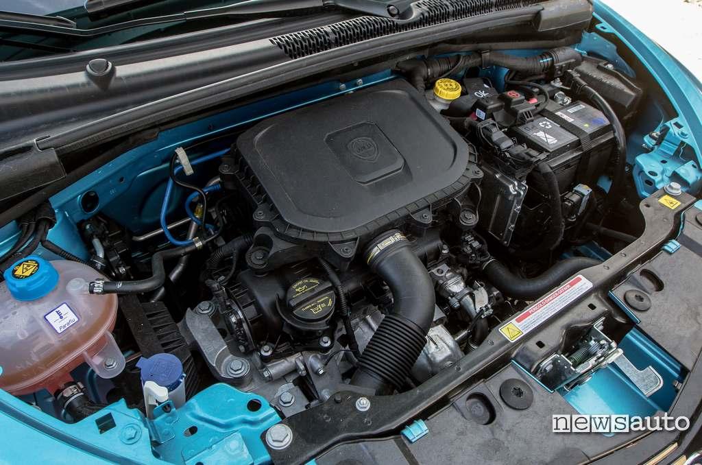 Motore Firefly ibrido da 70 CV della Lancia Ypsilon Hybrid