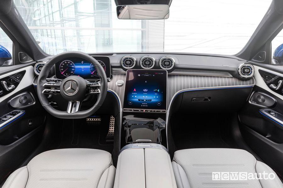 Plancia strumenti abitacolo nuova Mercedes-Benz Classe C Station Wagon