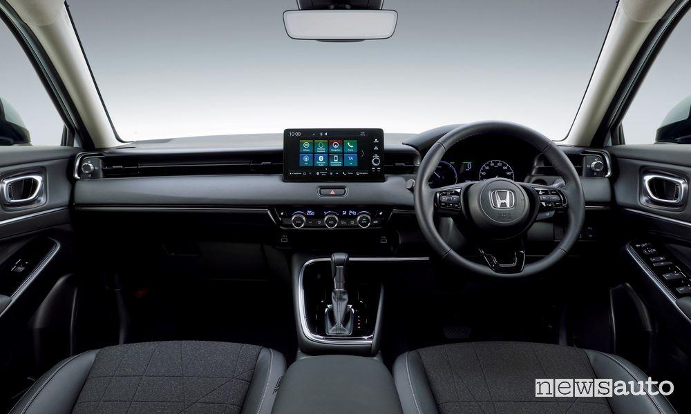 Plancia strumenti abitacolo nuovo Honda HR-V e:HEV 2021