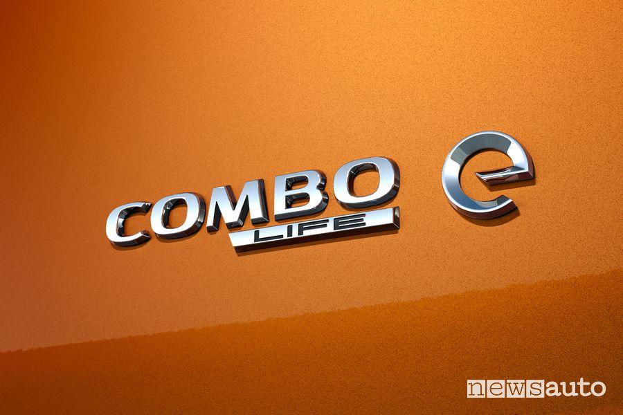 Badge portellone posteriore Opel Combo-e Life