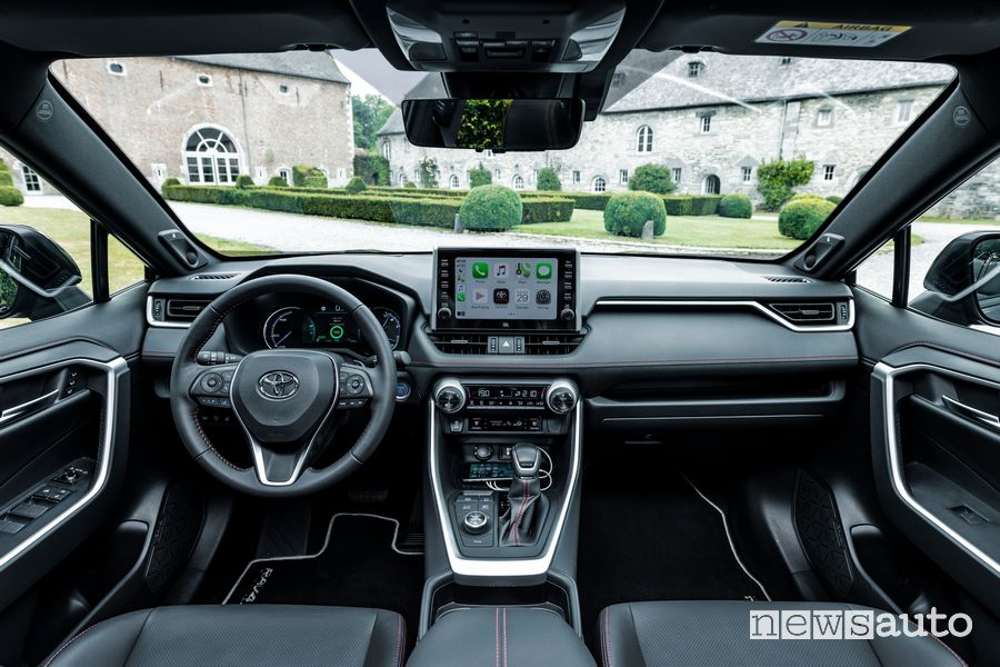 Plancia strumenti abitacolo Toyota Rav4 Plug-in Hybrid