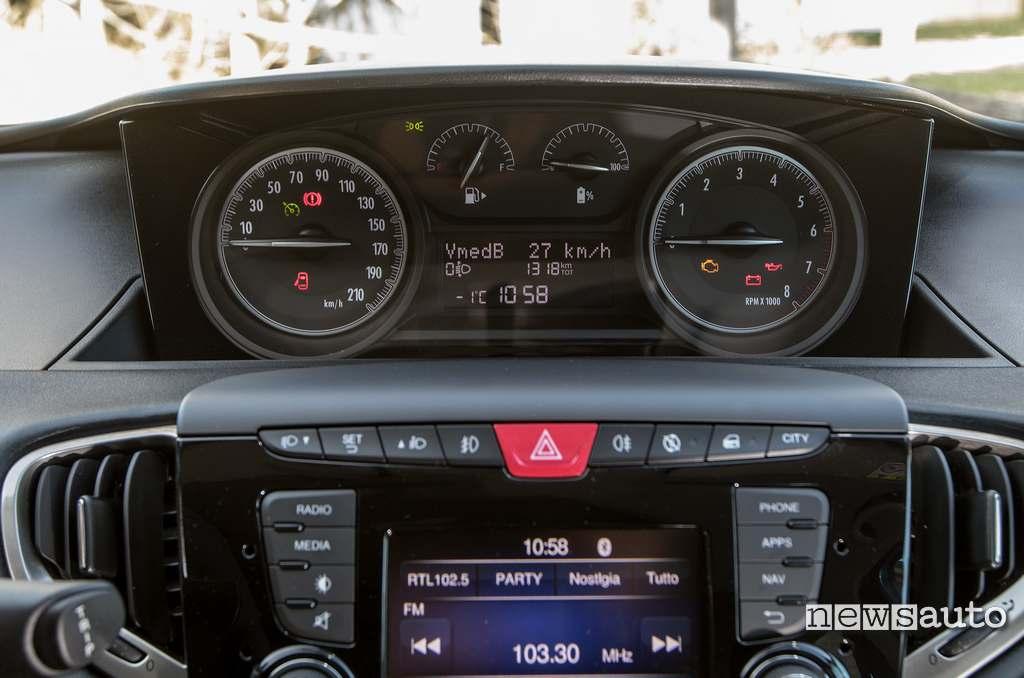 nuovo cruscotto con indicatore batteria Lancia Ypsilon Hybrid
