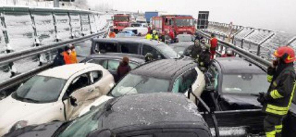 Mega incidente sull'autostrada Torino-Bardonecchia