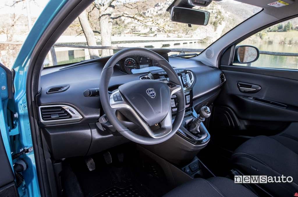 interni rinnovati Lancia Ypsilon Hybrid