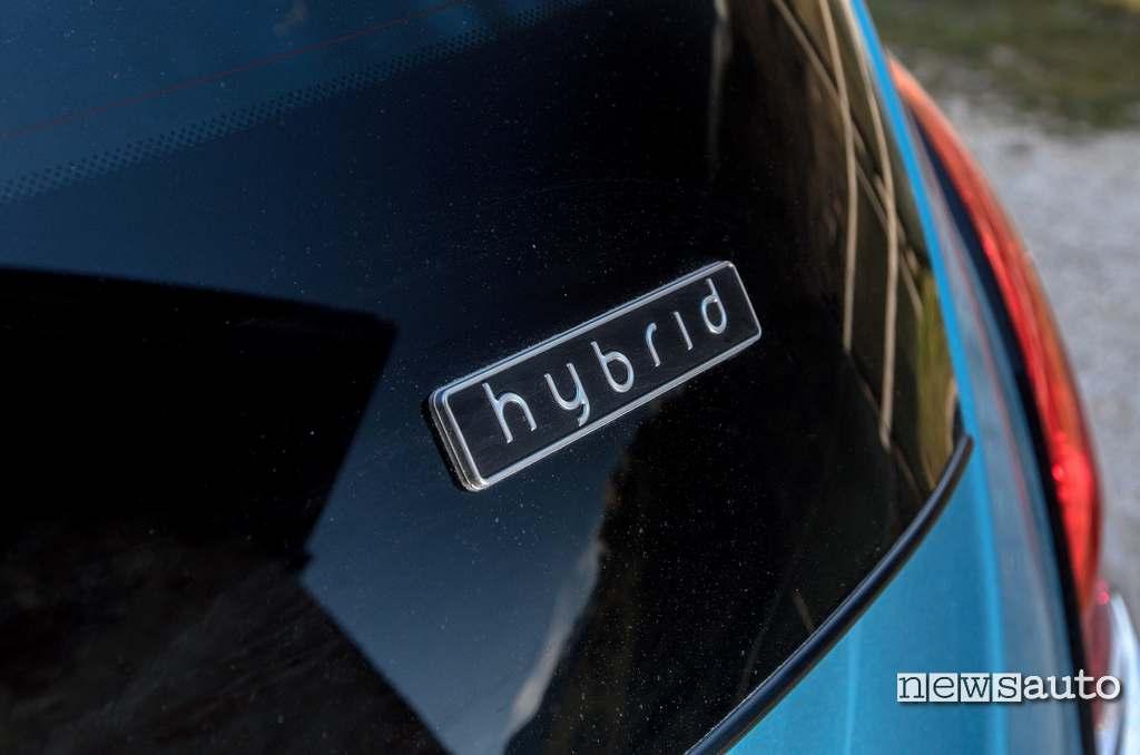 logo hybrid Lancia Ypsilon Hybrid