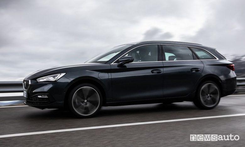 Seat Leon Sportstourer metano, mild hybrid e diesel, caratteristiche e prezzi