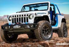 Photo of Jeep Wrangler elettrica, caratteristiche e prestazioni della Magneto