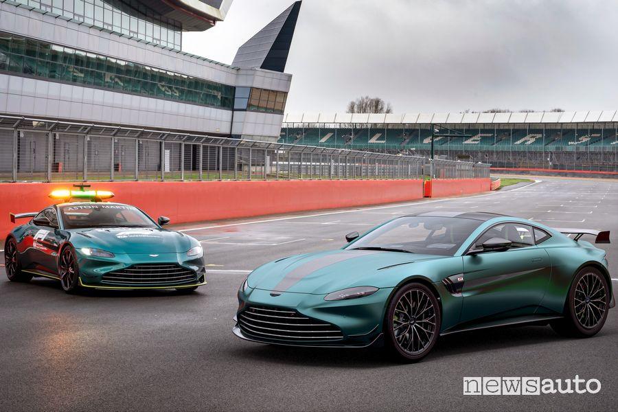 Aston Martin Vantage F1 Edition e la Vantage safety car F1
