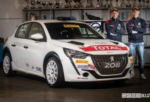 Photo of Equipaggio ufficiale Peugeot Sport Italia al CIR 2021