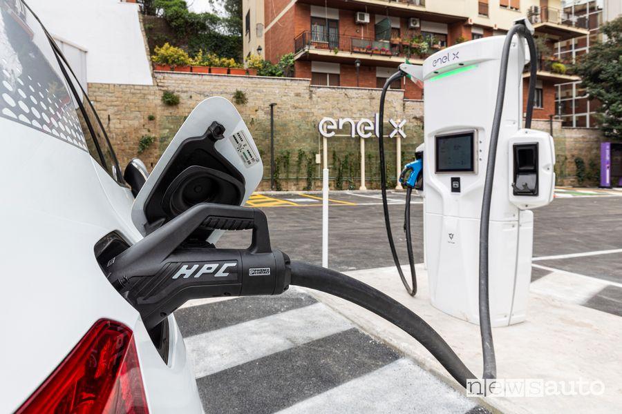 Stazioni di ricarica rapida a Roma Corso Francia fino a 350 kW