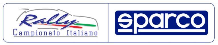 Logo del Campionato Italiano Rally Sparco