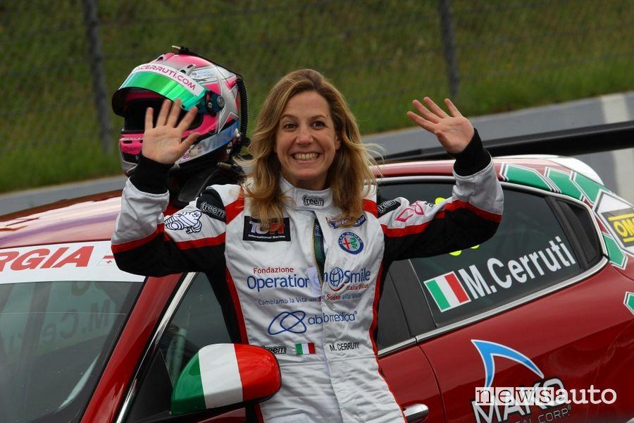 Michela Cerruti, donna pilota di auto da corsa