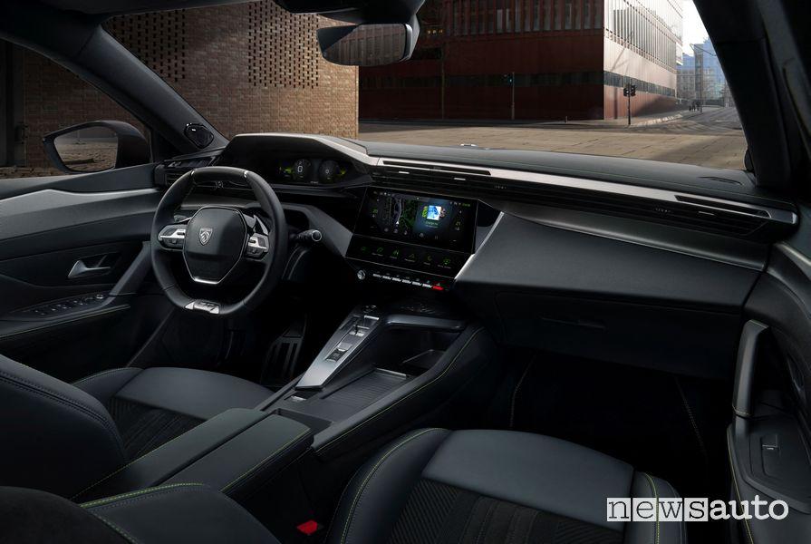 Plancia strumenti abitacolo i-Cockpit Peugeot 308