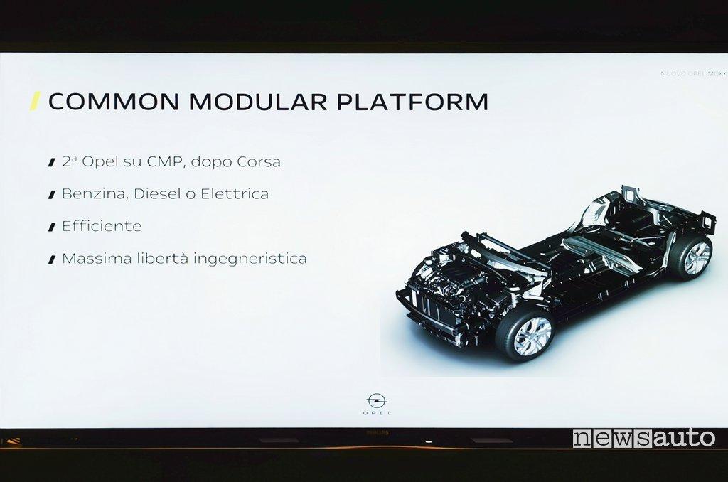 Piattaforma CMP Opel Mokka-e