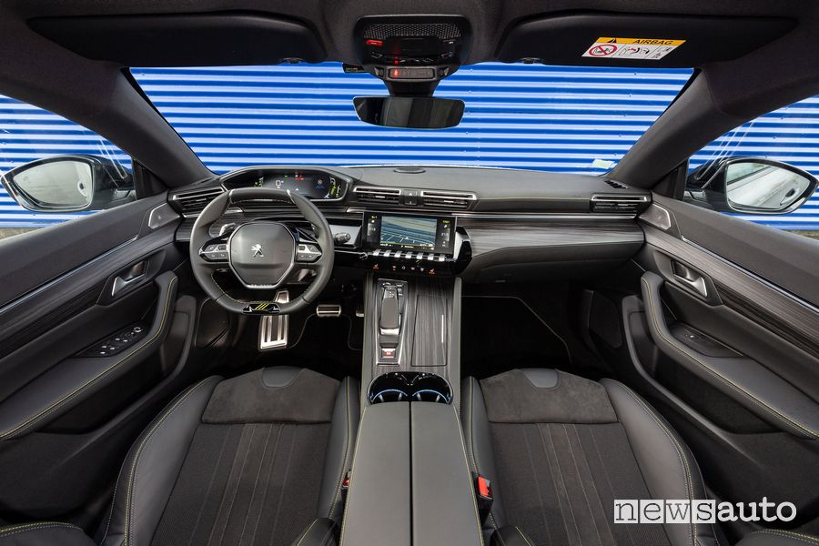 Abitacolo Peugeot i-Cockpit 508 Sport Engineered